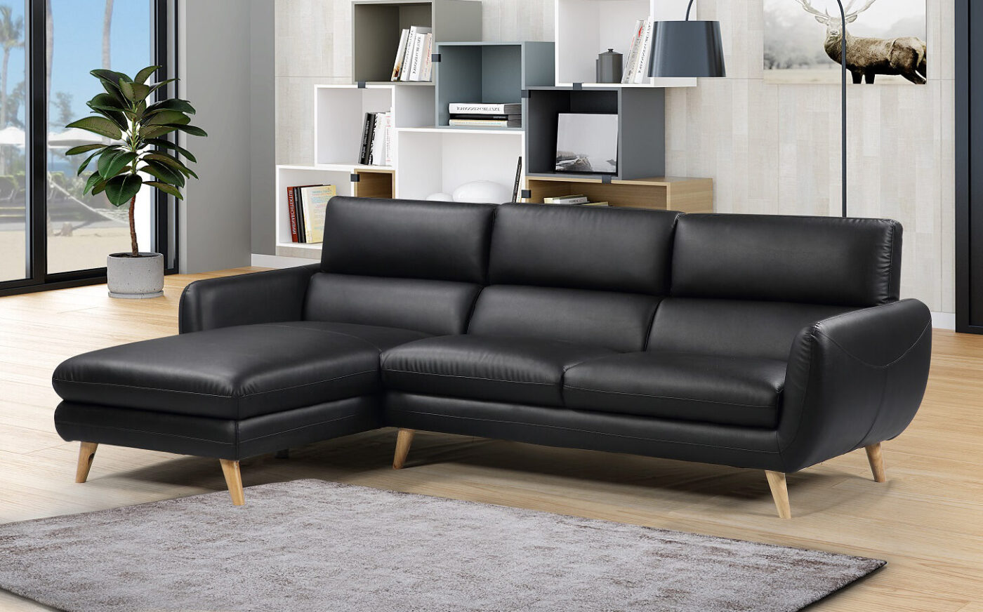 Picture of: 10 Chaiselong Sofaer I Laeder Som Tilforer Eksklusiv Charme Til Stuen