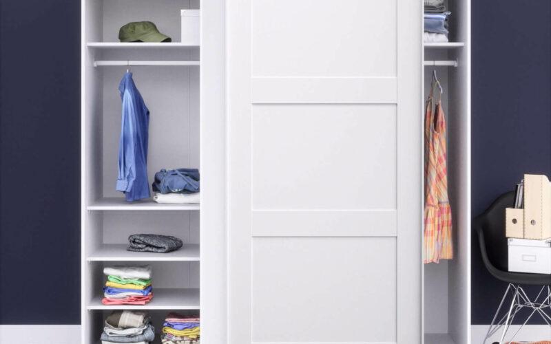 Det bedste garderobeskab med skydelåger til dit hjem